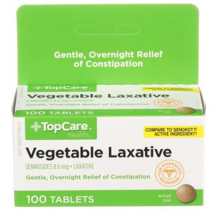 Vegetable Laxative Tablet 100 Ct