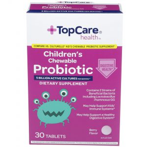 Children's Chewable Probiotic Tablet 30 Ct