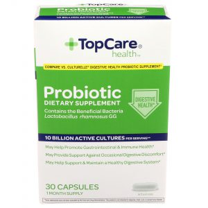 Probiotic Dietary Supplement Capsule 30 Ct