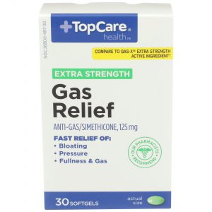 Extra Strength Gas Relief Softgel 30 Ct
