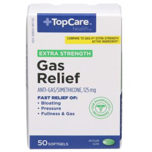 Extra Strength Gas Relief Softgel 50 Ct