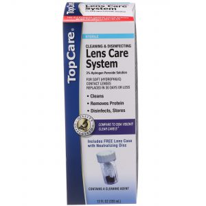 Hydrogen Peroxide Cleaning & Disinfecting Lens Care System 12 Oz