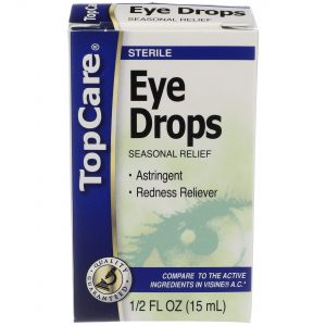Eye Drops Irritation Relief 0.5 Oz