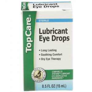 Eye Drops Lubricating Dry Eye Relief 0.5 Oz