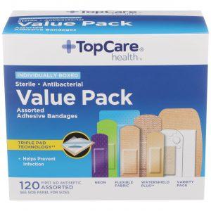 Value Pack Bandages 120 Ct