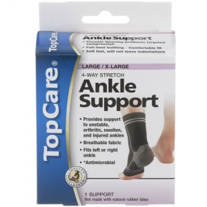 Ankle Support 4-Way Stretch L/XL 1 Ea