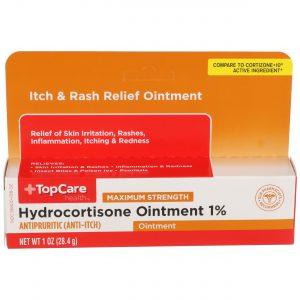Max Strength Hydrocortisone Ointment 1% 1 Oz