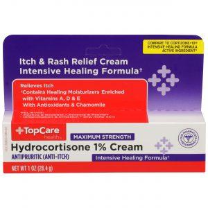 Max Strength Hydrocortisone 1% Cream 1 Oz