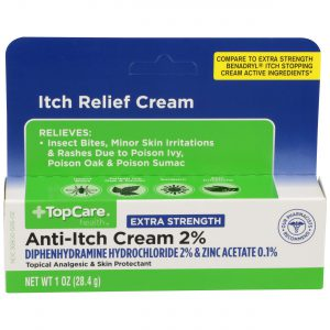 Extra Strength Anti-Itch Cream 2% 1 Oz