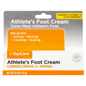 Athlete's Foot Cream .5 Oz