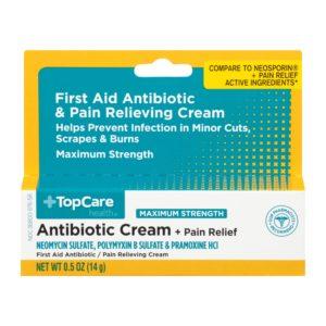 Max Strength Antiobiotic Cream + Pain Relief 0.5 Oz