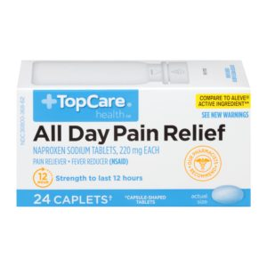 All Day Pain Relief Caplet 24 Ct