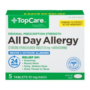 All Day Allergy Cetirizine 24Hr Tablet 5 Ct