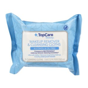 Makeup Remover & Cleansing Cloths, Alcohol & Oil Free