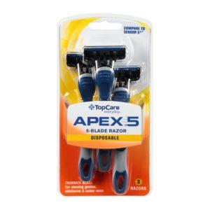 Apex 5 Men's Disposable Razors