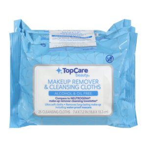 Makeup Remover & Cleansing Cloths, Alcohol & Oil Free Multipack