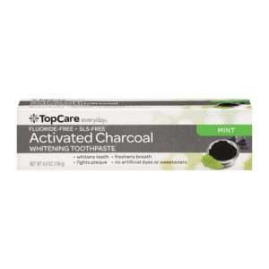 Toothpaste Activated Charcoal Whitening, Mint
