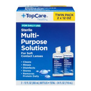 Multi-Purpose Solution for Daily Use, Twin Pack 24 Oz