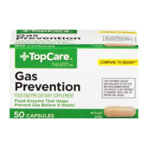 Gas Prevention Capsules 50 Ct