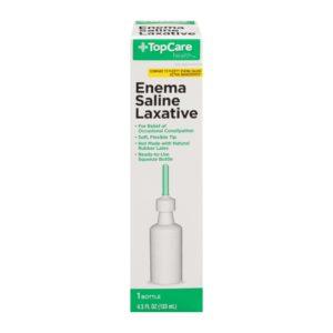 Enema Saline Laxative 4.5 Oz