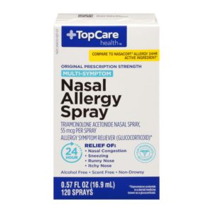 Nasal Allergy Spray 24 HR 120 Metered Sprays