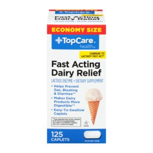 Fast Acting Dairy Relief Caplet 125 Ct