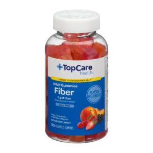 Fiber Adult Gummies Sugar Free 90 Ct