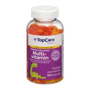 Children's MultiVitamin Gummies Fruit Flavors 180 Ct