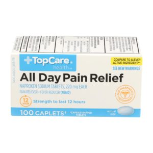 All Day Pain Relief Caplet 100 Ct
