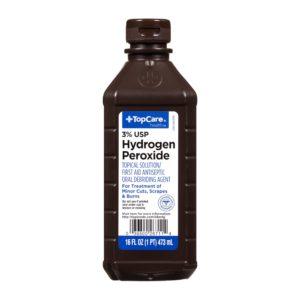 First Aid Hydrogen Peroxide 16 Oz