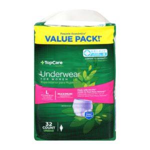 Underwear for Women Max Absorbency L 32 Ct